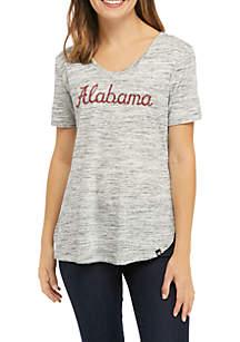 47 Brand NCAA Alabama Crimson Tide Split Hem T-Shirt