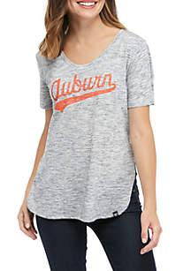 47 Brand NCAA Auburn Tigers Split Hem T-Shirt