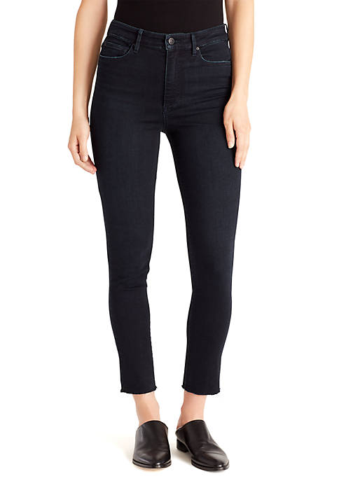 Ella Moss Super Sleek Coated Skinny Ankle Jeans