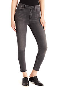 Super Sleek Coated Skinny Ankle Jeans