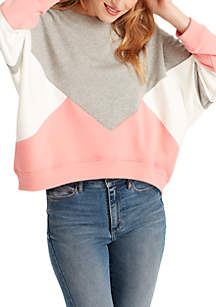 Samantha Crop Pullover Sweater
