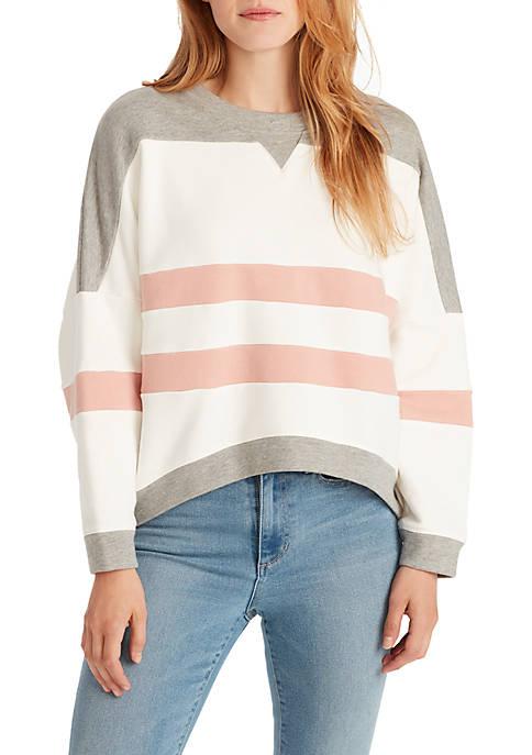 Ella Moss Samantha Crop Pullover Sweater