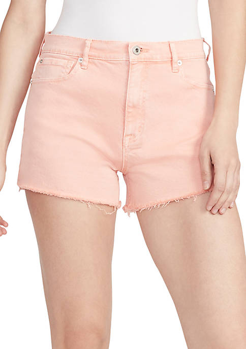 High Waist Cut Off Shorts