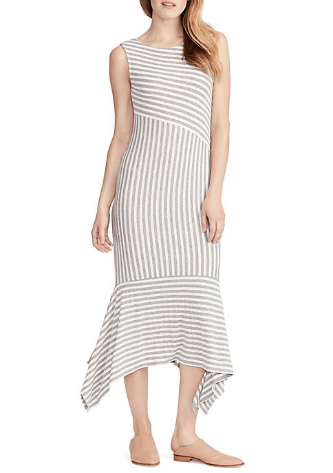 Ella Moss Kaylee Sleeveless Stripe Midi Dress