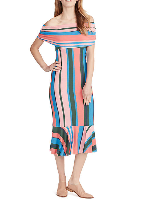 Ella Moss Nora Off the Shoulder Maxi Dress