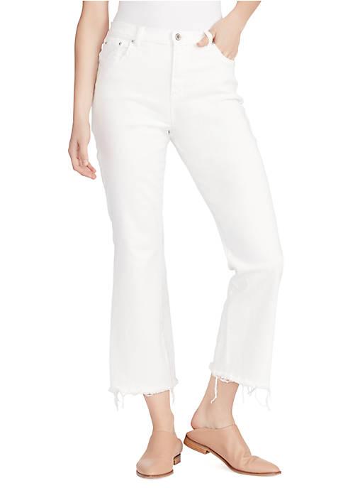 Ella Moss High Waist Crop Flare Jeans