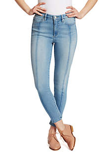 Ella Moss Skinny Ankle Front Seam Jeans