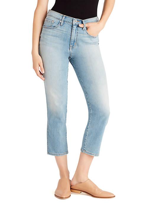 Ella Moss Straight Leg Cropped Jeans