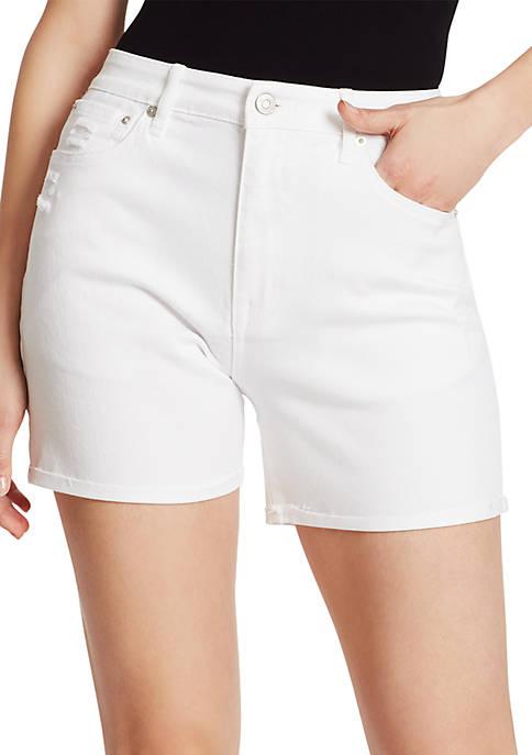Ella Moss Cuff Midi Shorts