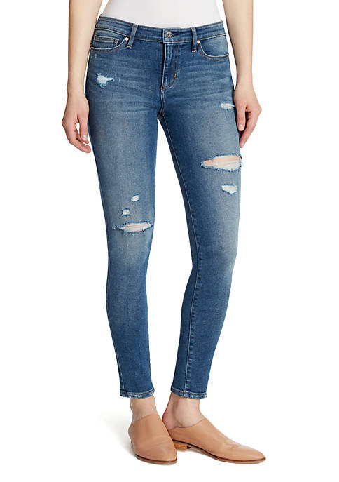 Ella Moss Mid Rise Skinny Jeans