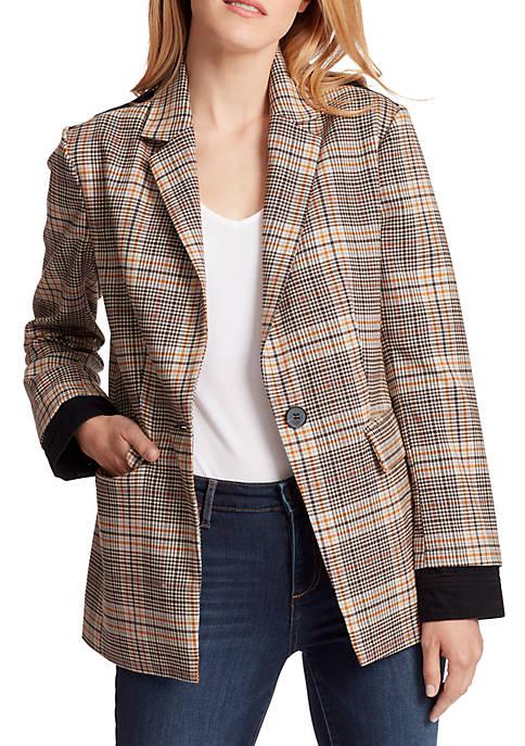 Ella Moss Womens Menswear Blazer