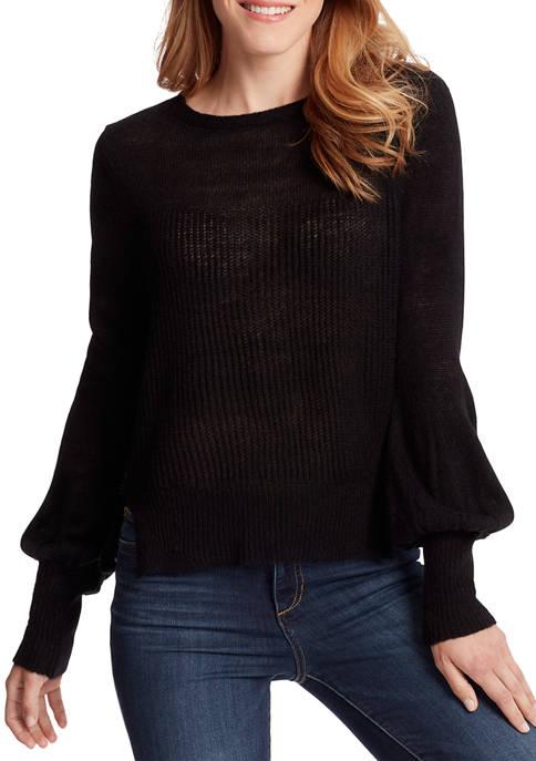 Ella Moss Womens Penelope Mohair Sweater