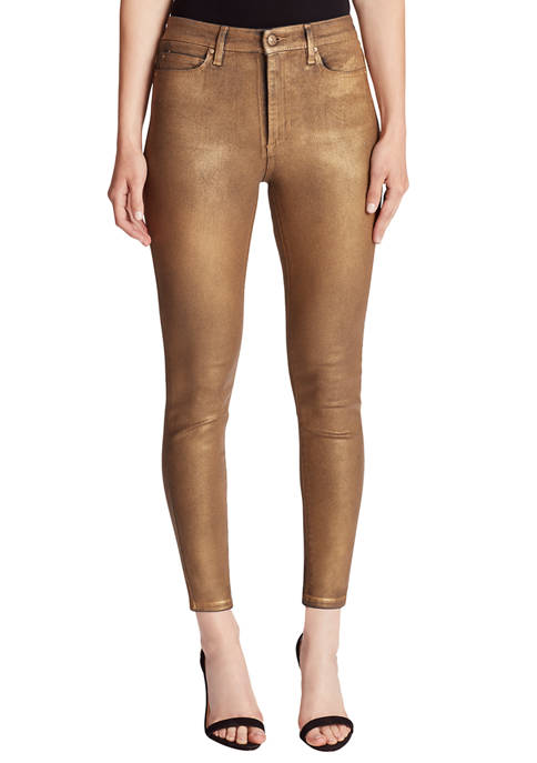 Womens Skinny Ankle Jeans
