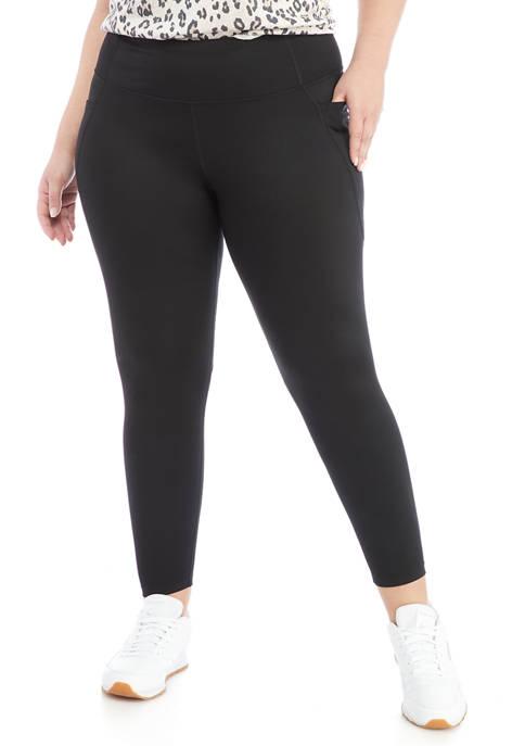Crown & Ivy™ Plus Size Double Pocket Leggings