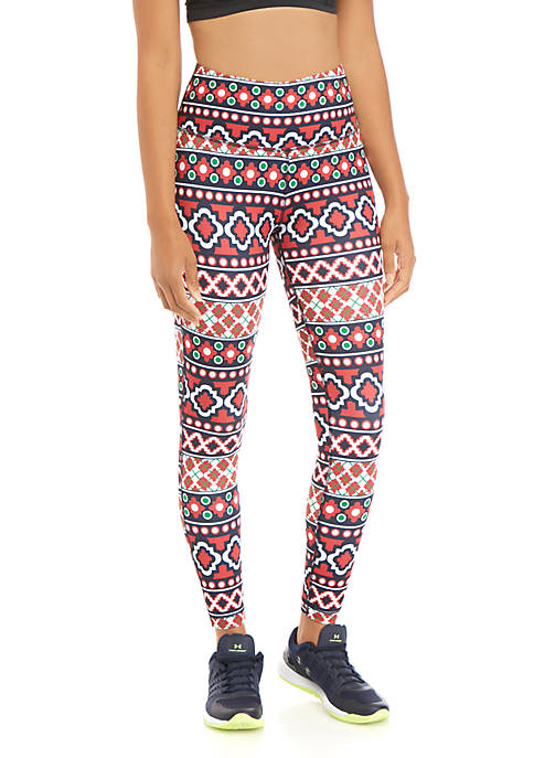 Crown & Ivy™ Printed Performance Leggings
