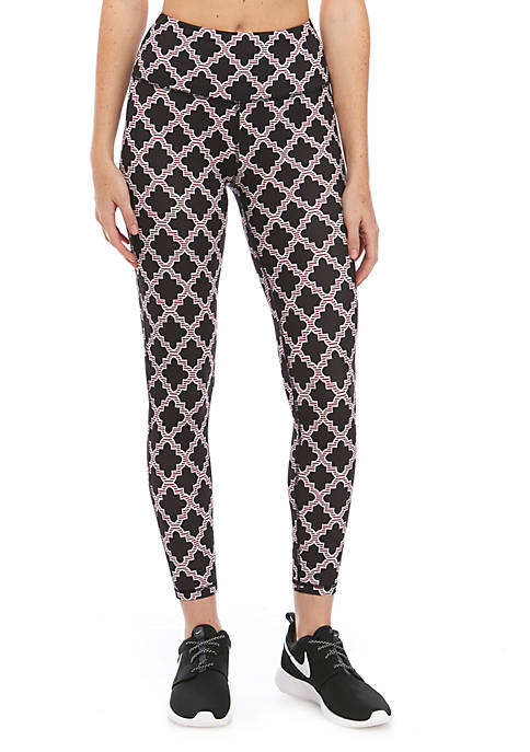 Crown & Ivy™ Womens Printed Performance Leggings