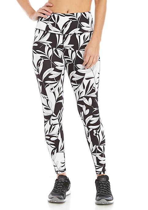 Crown & Ivy™ Womens Printed Performance Leggings
