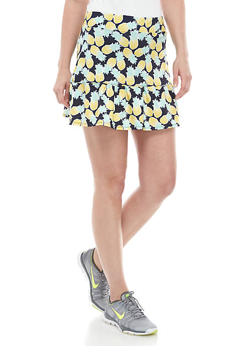 Crown & Ivy™ Ruched Tennis Skort