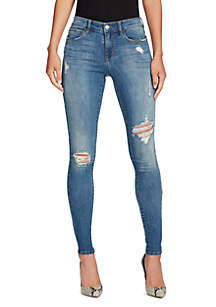 Destructed Skinny Jeans