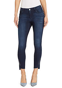 Skinny Girl Side Bar Skinny Jeans
