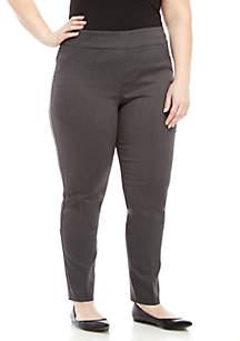 Kim Rogers® Plus Size Average Pull-On Millennium Leggings