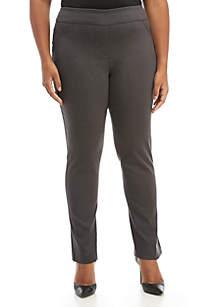 ca026d133086b ... Kim Rogers® Plus Size Short Pull-On Millenium Leggings