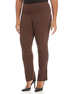 Kim Rogers® Plus Size Short Pull-On Millenium Leggings