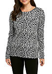 Womens Pullover Button Sleeve Sweater