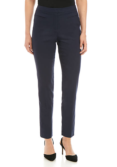 Ellen Tracy Welt Pocket Slim Pants