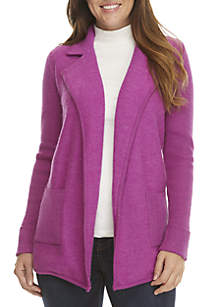 Boiled Wool Notch Collar Jacket