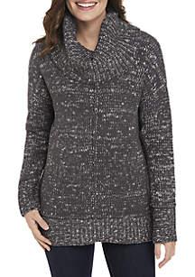 Long Sleeve Mix Stitch Sweater