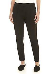 80434627961 New Directions® Straight Leg Elastic Pants · Jones New York Suede Elastic  Leggings