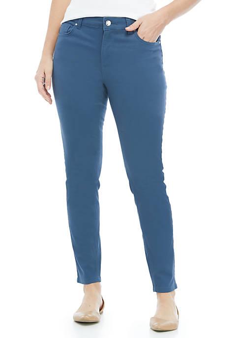 Solid Lexington Ankle Pants