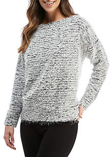 Pullover High Low Top