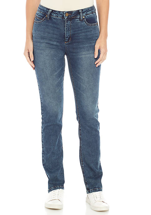 Jones New York Lexington Straight Denim Jeans