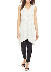 Jones New York Back Slit Vest