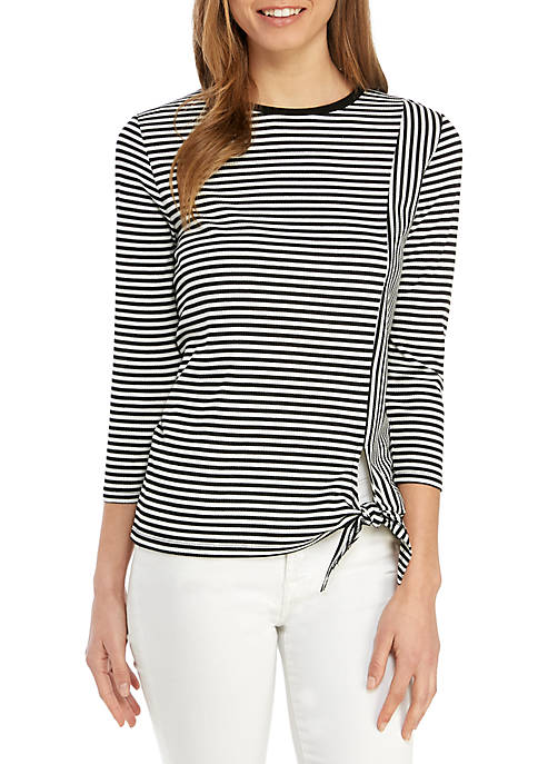 Stripe Knit Top