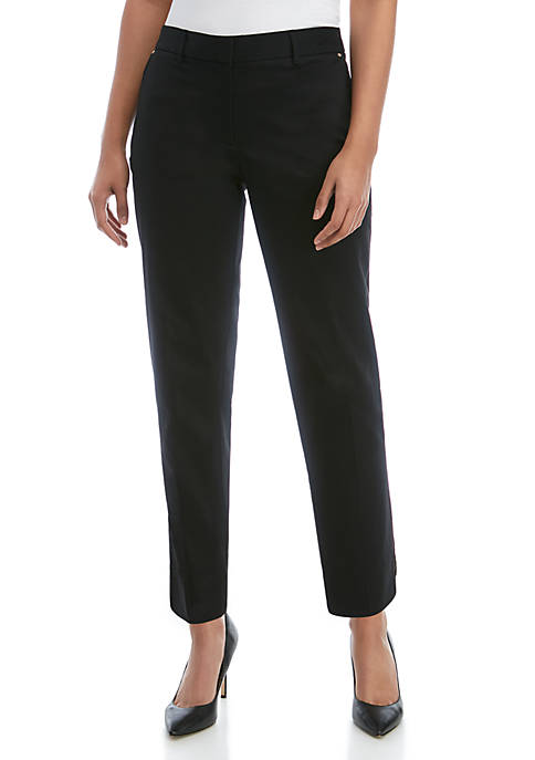 Jones New York Grace Ankle Pants with Back