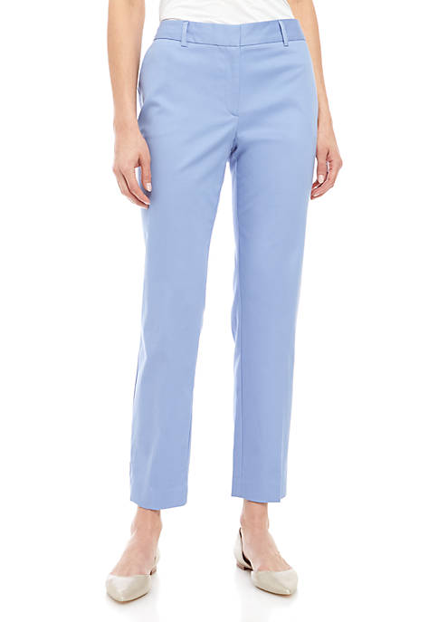 Jones New York Grace Mid Rise Ankle Pants