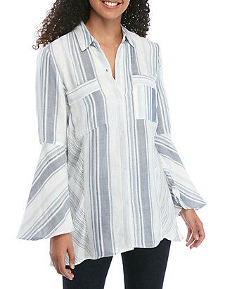 e3b024582 Jones New York Button Down Shirt with Handkerchief Hem | belk