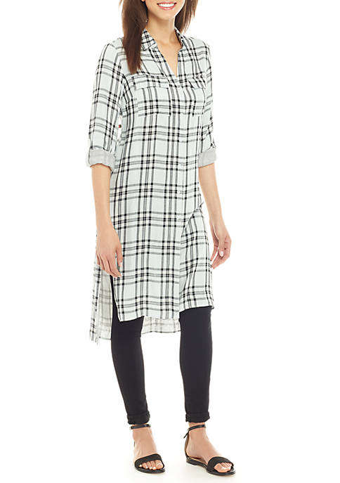 Jones New York Crossover Back Tunic
