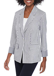 Jones New York Single Button Blazer