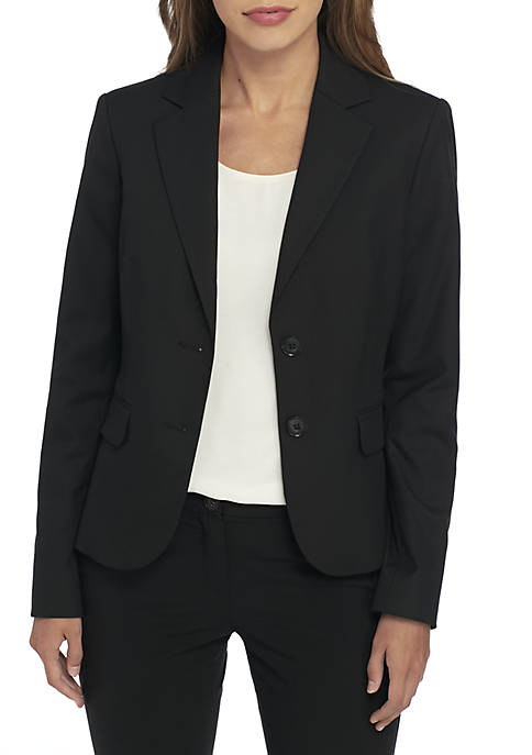 Jones New York Short Two Button Blazer