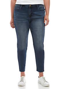 Sanctuary Plus Size Skinny Ankle Jeans