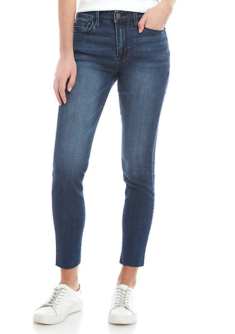 Social Stand Ankle Skinny Jeans