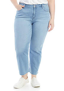 Sanctuary Straight Cropped Jeans
