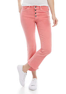 Sanctuary Connector Cropped Boot Cut Jeans