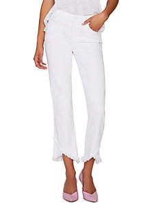 Sanctuary Stand Straight White Jeans