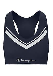 Champion® Sweatshirt Chevron Bra