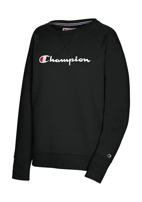 Champion® Boyfriend Crew Graphic Sweatshirt